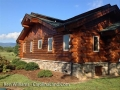 Move in ready log home or office on Hwy 9 NC