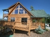 Custom Log home in Grandview Peaks for sale